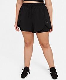 Plus Size Flex Essentials  2-in-1 Training Shorts
