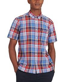 Men's Regular-Fit Madras Plaid Shirt