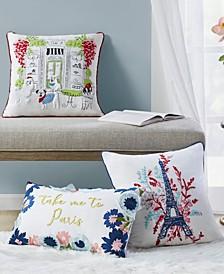 Paris Decorative Pillow Collection