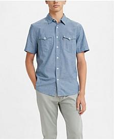 Men's Classic Clean Short Sleeve Western Shirt