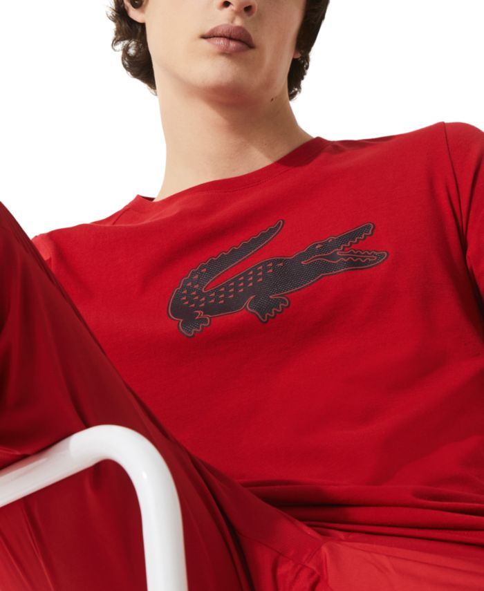 Lacoste Men's SPORT Ultra Dry Performance T-Shirt  & Reviews - T-Shirts - Men - Macy's