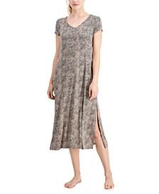 Ultra-Soft Long Sleepshirt Nightgown, Created for Macy's