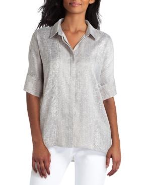 Women's Button Front Blouse