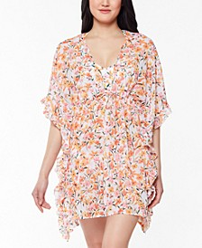 Summer Dreaming Printed Caftan Cover-Up