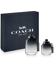 Men's 2-Pc. COACH FOR MEN Eau de Toilette Gift Set