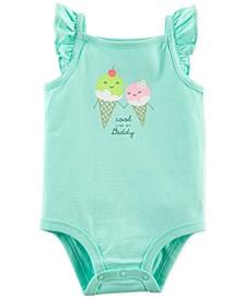 Baby Girls Cool Like Daddy Bodysuit