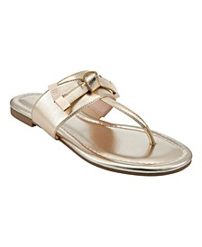 Women's Katia T-strap Flat Sandals
