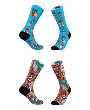 Tribe Socks MEN'S AND WOMEN'S HIPSTER DOG SOCKS, SET OF 2