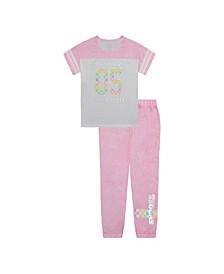 Big Girls Pajama Pants Set, 2 Piece