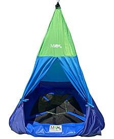 Outdoor Teepee Tent Swing