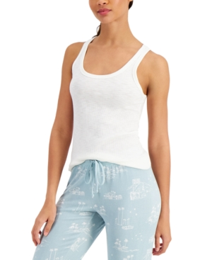 Basic Solid Ribbed Tank Top