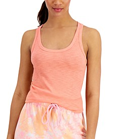 Basic Solid Ribbed Tank Top, Created for Macy's