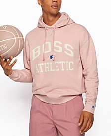 BOSS x Russell Athletic Unisex Relaxed-Fit Hoodie