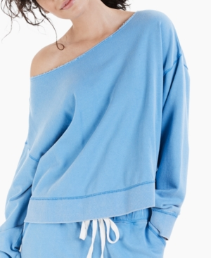 Cotton French Terry Pajama Top