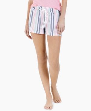 Printed Woven Pajama Shorts