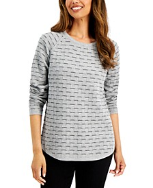 Petite Boxstitch Top, Created for Macy's