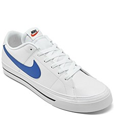 Men's Court Legacy Canvas Casual Sneakers from Finish Line