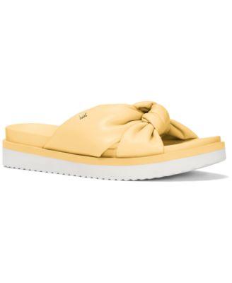 Josie Knotted Slide Sandals