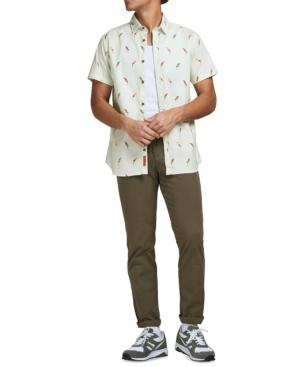 Men's Playa Bird Printed Shirt