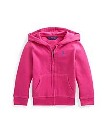 Toddler Girls Fleece Full Zip Hoodie