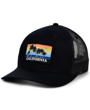 Local Crowns California Views Patch Curved Trucker Cap