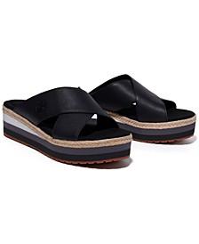 Women's Santorini Sun 2 Crisscross Slide Sandals