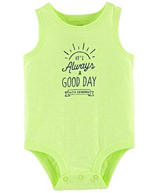 Baby Boys Neon Always A Good Day Bodysuit