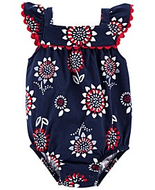 Baby Girls 4th of July Bodysuit
