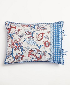 Americana Jacobean Quilted King Sham, Created for Macy's