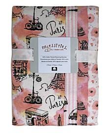 Baby Girls Receiving Blankets, Pack of 4
