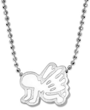 Enamel Angel Pendant Necklace