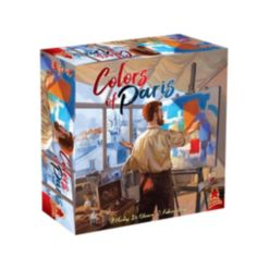 Colors of Paris Strategy Board Game