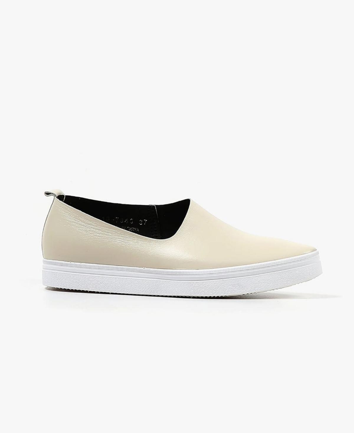 Women's Side Scoop Slip-On Sneakers Women's Shoes