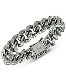 Men's Cuban Link Bracelet in Stainless Steel