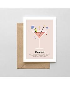 Mom-Tini Greeting Card