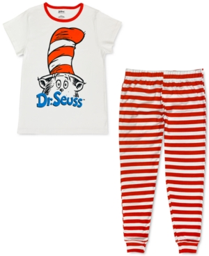 Cat In The Hat Family Pajama Set