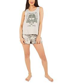 Star Wars Darth Vader Pajama Shorts Set