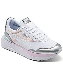Women's Cruise Rider Chrome Casual Sneakers from Finish Line