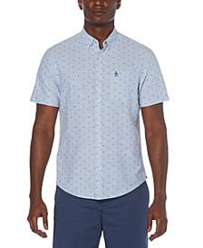 Men's Oxford Dobby Button-Down Shirt