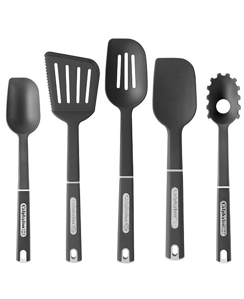 Calphalon 5 Piece Nylon Kitchen Utensil Set