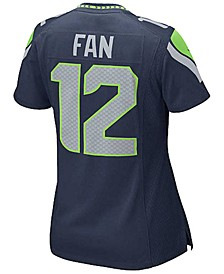 Women's Twelfth Man Seattle Seahawks Game Jersey