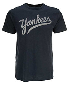 '47 Brand Men's New York Yankees Scrum Wordmark T-Shirt