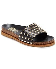 Women's Kortlen Studded Footbed Slide Sandals