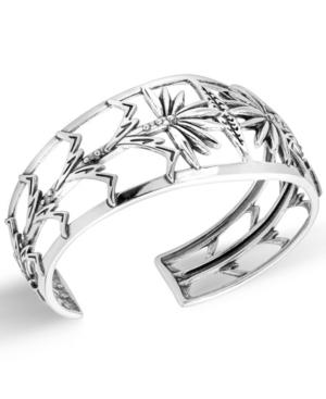 by Carolyn Pollack Sterling Silver Corn Stalk Design Cuff Bracelet