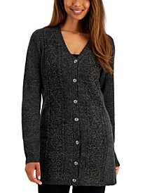 Cotton Cable-Knit Cardigan, Created for Macy's