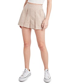 Loose Pleated Shorts