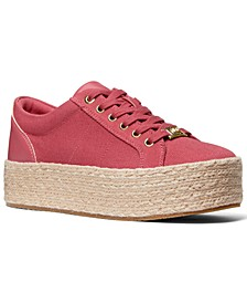 Women's Libby Lace Up Espadrille Sneakers