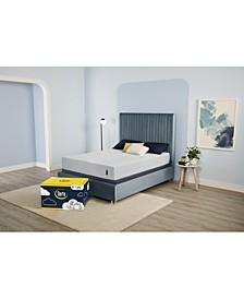 "EZ Tote 10"" Cushion Firm Gel Memory Foam Mattress- Queen"