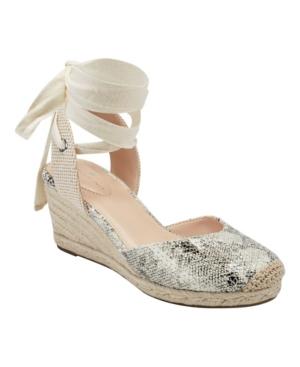 Nettie Feminine Espadrille Wedge Sandals Women's Shoes