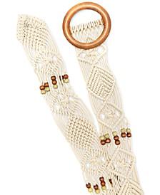 Macrame Sash Belt, Created for Macy's